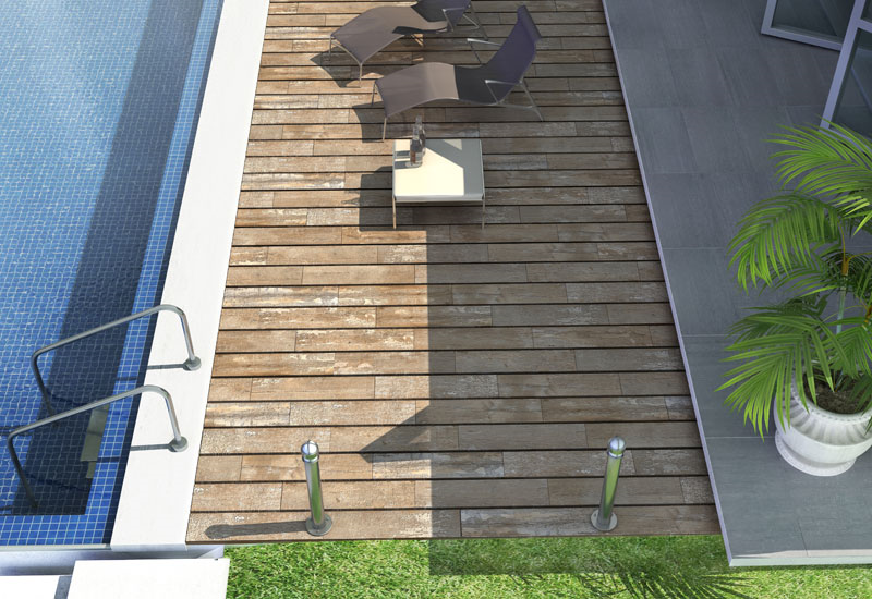Pose De Carrelage Pour Am Nagement Ext Rieur Terrasse All E